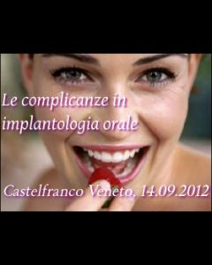 Le complicanze in implantologia orale