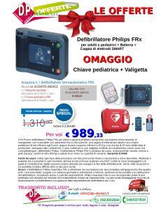 Defibrillatore Philips Semiautomatico FRX (Ref. PHD861304 )  OFFERTA