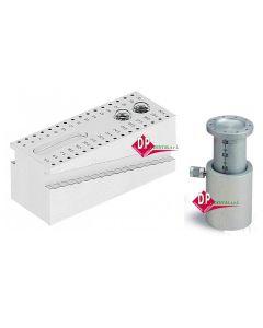 Misuratori strumenti canalari in Alluminio  Blocco  o  Cilindro