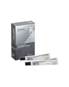 NETC BIG 40gr Base + 10gr Catalizzatore  Cemento Provvisorio per ponti e corone (tipo Temp Bond)