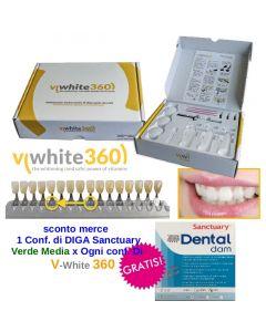 Sbiancamento V-WHITE 360 Kit